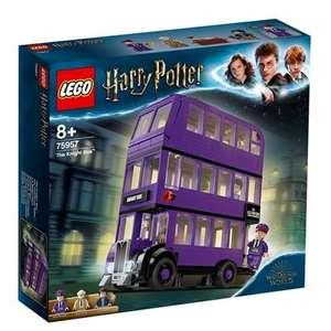 LEGO Harry Potter Autobús noctámbulo y LEGO Harry Potter Cabaña de Hagrid