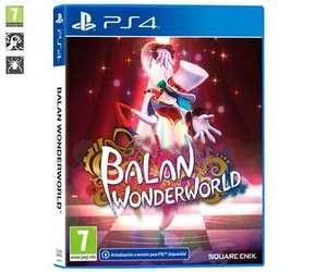 Balan Wonderworld para Playstation 4. Género: plataformas. PEGI: +7.