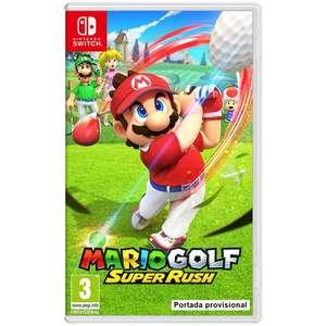 "Nintendo Switch Mario Golf: Super Rush ""Últimas Unidades"""