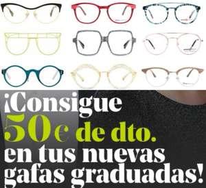 50€ De REGALO en tus nuevas gafas graduadas