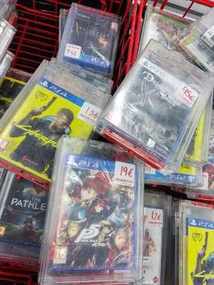 Juegos variados PS4, PS5, Switch y Xbox (Mediamarkt Pulianas Granada)