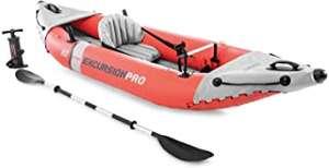 Kayak Hinchable INTEX K1 Excursion Pro 1 Remo hinchador