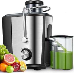 Licuadoras Para Verduras y Frutas, 600W Licuadora Con 65MM, Acero Inoxidable