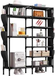 Organizador de Tela de Zapatos, almacenaje...Gran capacidad,Espacioso,Fácil de instalar