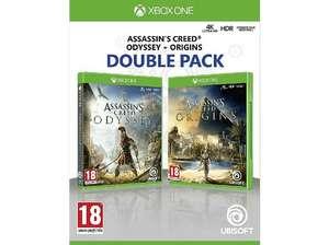 Pack Assassin's Creed Odyssey y Origins Xbox One en Media Markt (eBay)