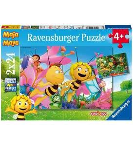 Puzzle Abeja Maya, Pack de 2 x 24 Piezas