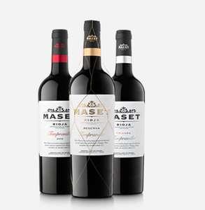 Chollazo Bienvenida Maset Vinos&Cavas con 50% descuento Directo + Envío Gratis sin Mínimo
