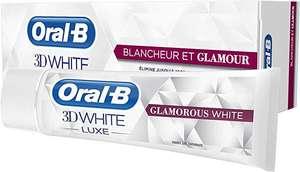 Oral-B Manual 3Dwhite Lujo Glamour Blanca Pasta Dentífrica Blanqueadora 75 ml
