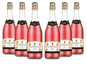 6 Botellas Sant'Orsola Lambrusco Rosado