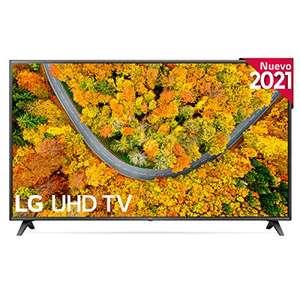"LG 75UP7500-ALEXA 2021-Smart TV 4K UHD 189 cm (75"") Quad Core, HDR10 Pro, HLG, Sonido Virtual Surround, HDMI 2.0, Bluetooth, WiFi"