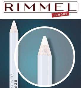 2 Unidades Rimmel London Soft Khol Lápiz de ojos, blanco puro - 1,2 g (Al Tramitar)