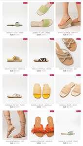 Calzado de mujer a partir de 5€ ( GASTOS DE ENVIO GRATIS A PARTIR DE 35€)