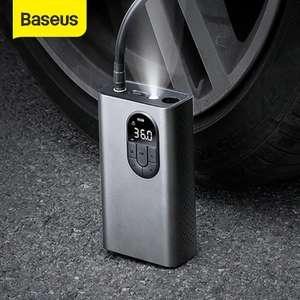 BASEUS Bomba Inflable de Compresor de Aire con Luz LED (Envío desde España)