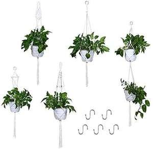 VIVILINEN Colgadores para Plantas Jardinera (5 piezas)