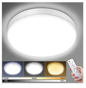 Plafón LED Techo Regulable 24W
