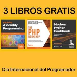 GRATIS :: Pack de 3 Libros | Día Internacional del Programador | EPUB, MOBI, PDF