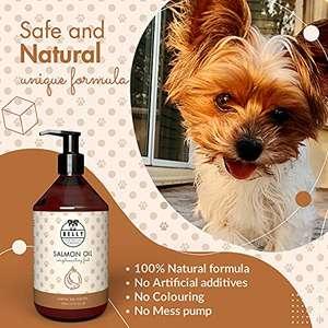 Suplemento para perro - Aceite de Salmón Omega 3/6