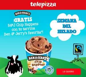 Tarrina de Helado (465 ml ) Ben & Jerry's gratis al comprar otra