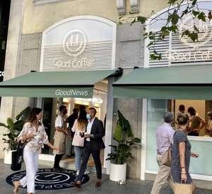 Café Gratis para celebrar la nueva apertura de GoodNews (MADRID)