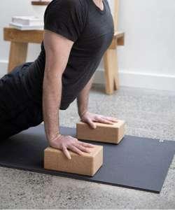 Bloques de Yoga de Corcho Natural