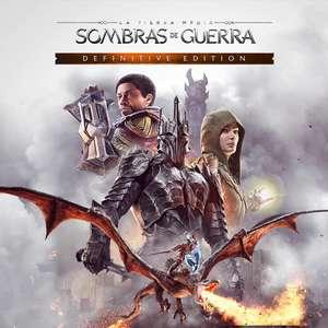 Esdla Sombras De Guerra Definitive Editon PS4