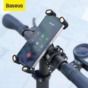 BASEUS Soporte de teléfono móvil para bicicleta, moto, patinete