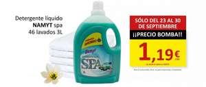 Detergente líquido Namyt Spa 3 Litros