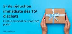 5€ dto. por 15€ de compra en Amazon.fr - Seleccionados