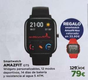 Smartwatch Amazfit GTS + REGALO Amazfit Neo ( Varios colores)