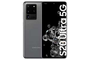 "Samsung Galaxy S20 Ultra 5G - 6.9"" Dynamic AMOLED (12GB RAM, 128GB ROM , 108MP , Octa-core Exynos 990, 5000mAh ), Cosmic Gray"