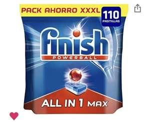 110 pastillas Finish para lavavajillas