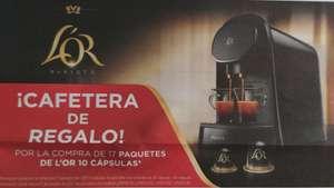 Cafetera L'OR Barista modelos LM8012 + 17 packs de cápsulas L'OR