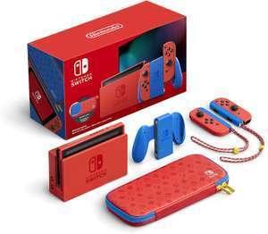 Nintendo Switch Edición Especial Mario ( Con Cupón de 10€ Newsletter)
