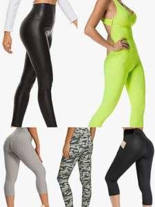 Mallas/Leggins para mujer por menos de 10€. Varias tallas y modelos.