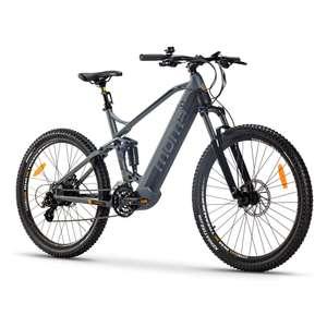 """Momabikes - Bicicleta Eléctrica """"EMTB 27.5"""" Shimano 24V - Aluminio - gris - 155x27x87 cm"""