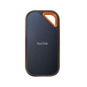 SanDisk Extreme PRO SSD portátil de 2 TB - NVMe, USB-C, cifrado por hardware, hasta 2000MB/s