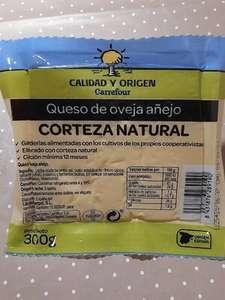 Cuña de Queso de Oveja Añejo 300G. de regalo con compras de mas de 50€ en carrefour