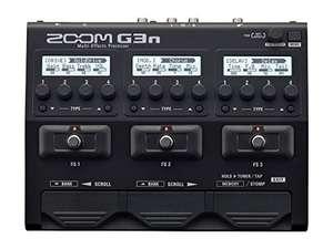 Pedalera multi-efectos para guitarra Zoom G3n