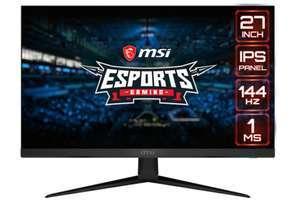 """Monitor 27"""" MSI Optix G271, 144 Hz, Full HD IPS, FreeSync"""