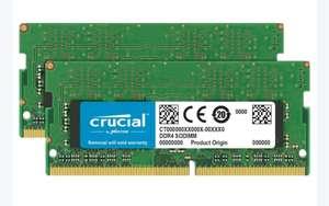 Crucial 32GB - 2 x 16 GB DDR4 2666 MHz CT2K16G4S266M