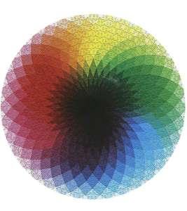 Puzzle 1000 piezas círculo cromático