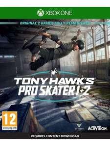 Tony Hawk's Pro Skater 1 + 2 Exclusivo Amazon (Xbox One)