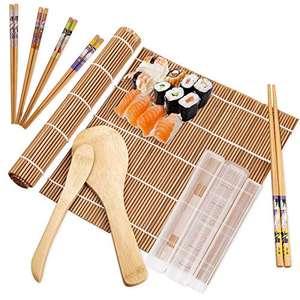 Kit 10 Piezas Bambú para Sushi