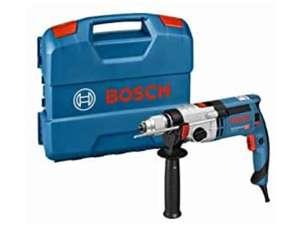 Bosch Professional GSB 24-2 - Taladro percutor (1100 W, 2 velocidades, 3000 rpm, Ø max perforación hormigón 22 mm + Maletín