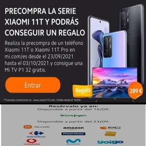 Evento por Xiaomi 11T Series (Enlaces Xiaomi 11T y 11T PRO en la descripción, desde el JUEVES 23, algunos ya disponibles)