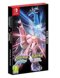 Pokémon Diamante brillante y Perla reluciente dual pack disponible + 10€ de descuento