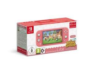 Consola Nintendo Switch Lite + Animal Crossing (32 GB - Coral)
