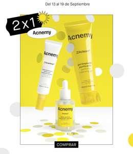 2x1 Acnemy - Niche Beauty Lab - Productos de cosmética para pieles con acné o grasas