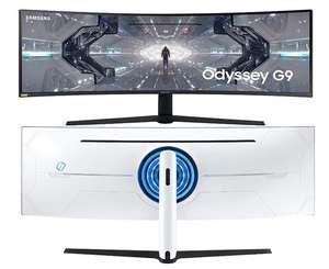 Monitor curvo Samsung Odyssey G9 de 49'' DQHD (5120 x 1440)
