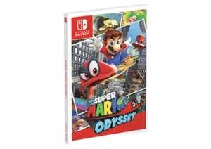 Guía de Super Mario Odyssey por 4,95€ / Y coleccionista 12,95€